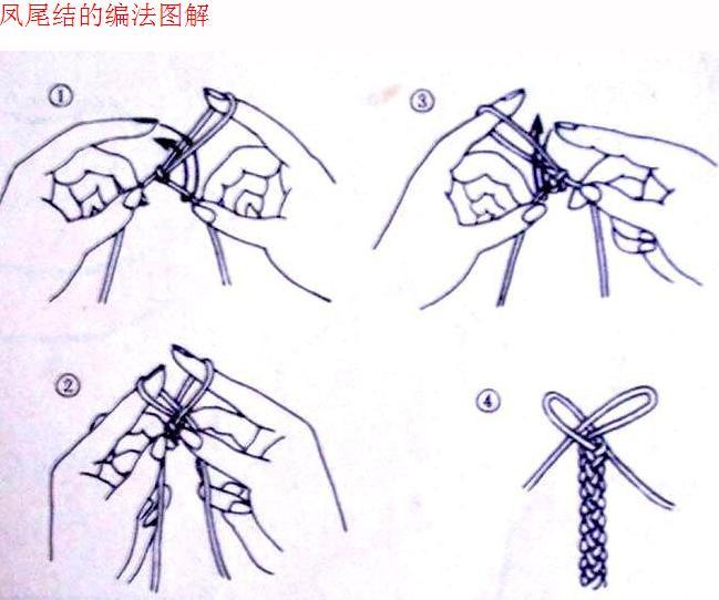 跪求该手链编法