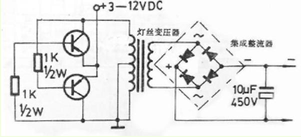 怎样用双12v变压器做逆变器