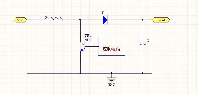 7-4.2v升压5v电路图,不使用集成芯片.