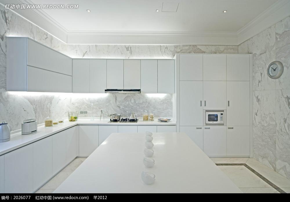 为主主要以白色绘制,多张整体橱柜哪种厨房搭配?python颜色装修图图片