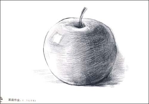 儿童素描画入门教学