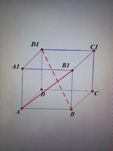 这两条异面直线的公垂线怎么画图片