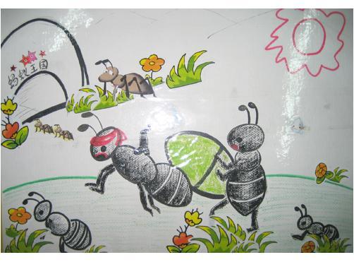 蚂蚁怎么画图片