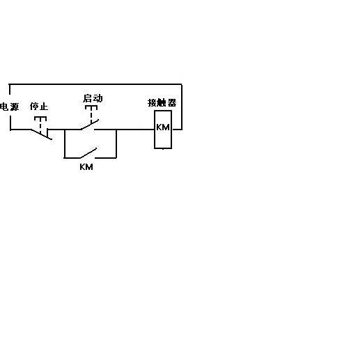 电机启动电路图