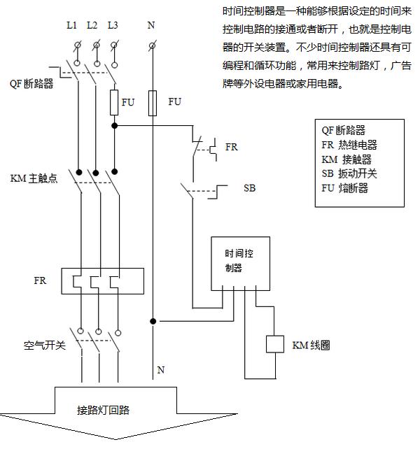求路灯自动节能控制器电路图.以及各种器件什么的.