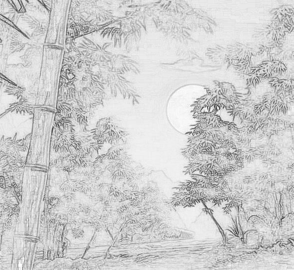 简笔画 手绘 素描 线稿 589_541