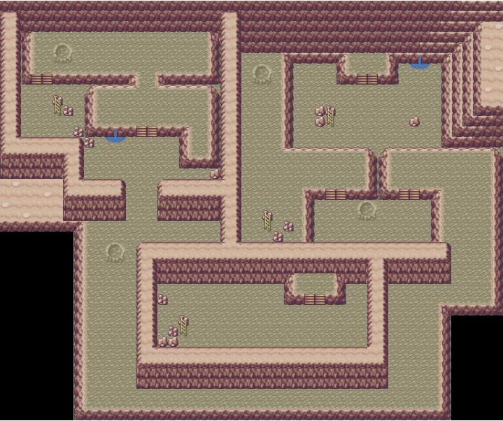 是给能给我口袋妖怪火红月见山那个洞窟的地图?