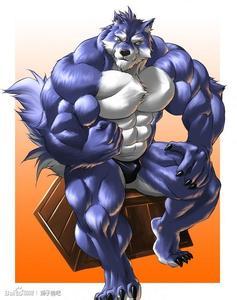 跪求大量兽人肌肉图片.狼人虎人牛头人龙人等.