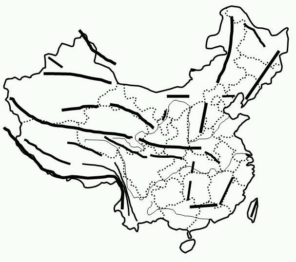中國地形圖,空白版,要清晰的,最好帶經緯線的,沒有的不要回答!