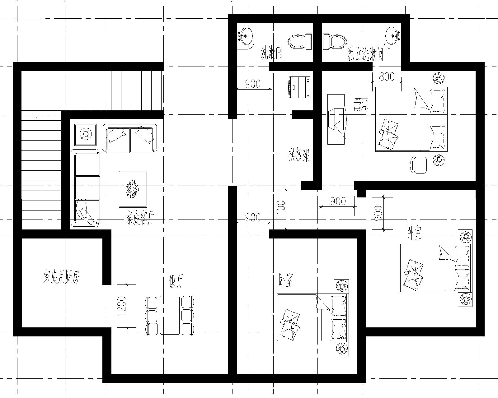 农村三层楼房设计图