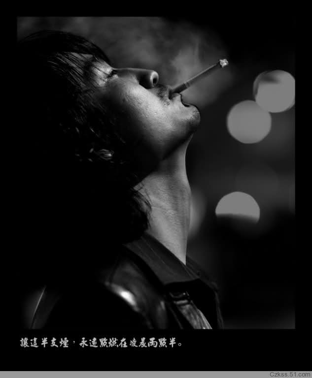 求一张男人孤独凄凉的图片,最好是靠墙半坐抽着烟仰望