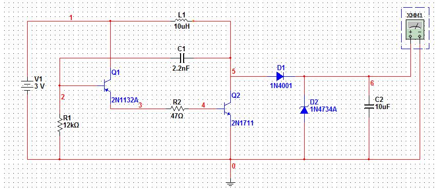 直流升压电路原理说明下