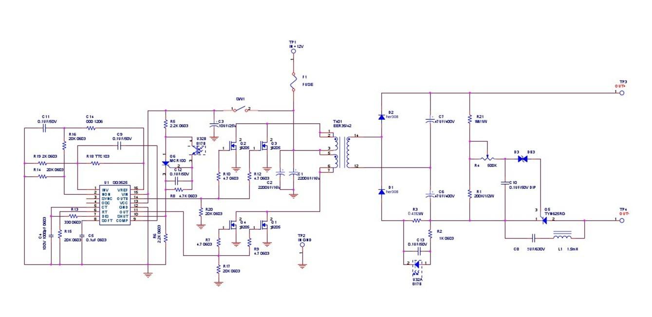 鱼机碰极 可控硅保护电路怎么做