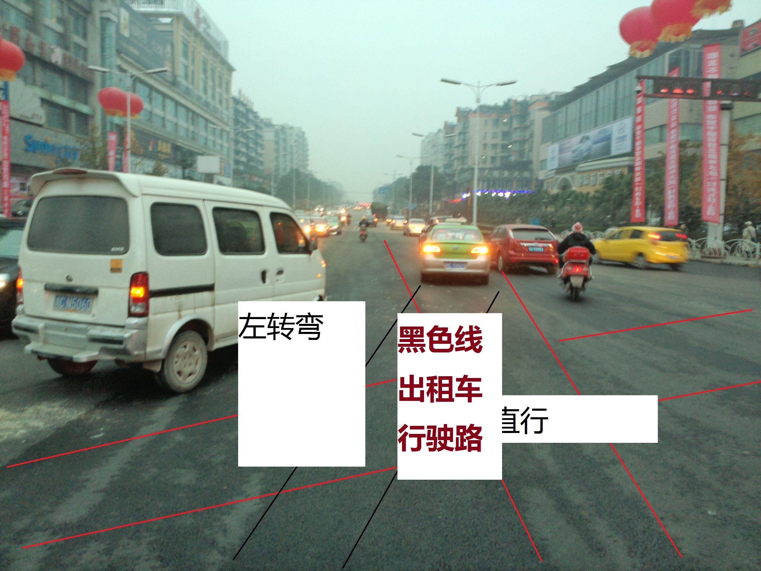  你是全责没有避让右转车辆或直行车辆.