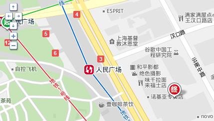 上海人民广场地铁站几号出口离来福士广场最近?