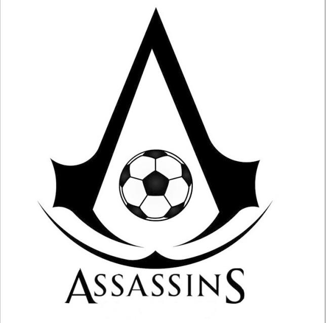 足球球队队徽设计.队名叫刺客,应该用什么素材啊?求大神推荐!