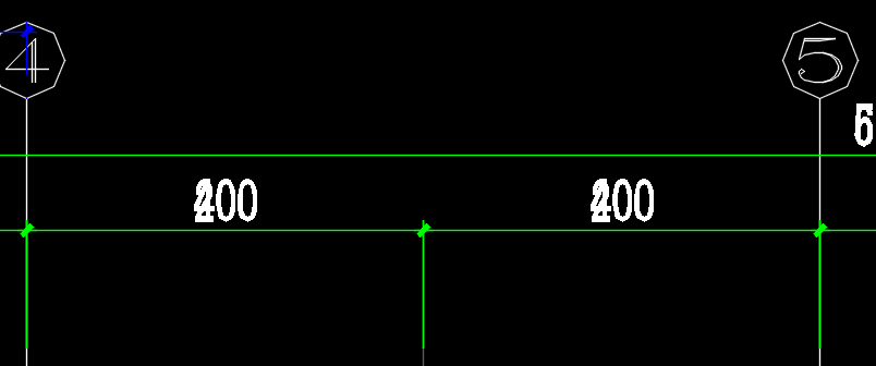 CAD2018的图纸标注数字种植重叠cad解决小区v图纸图片