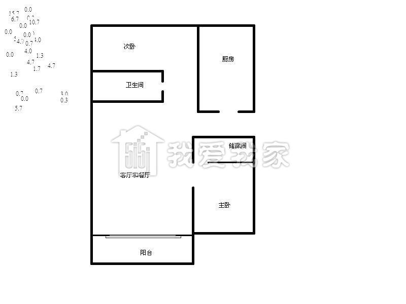 二楼90平方米设计图纸