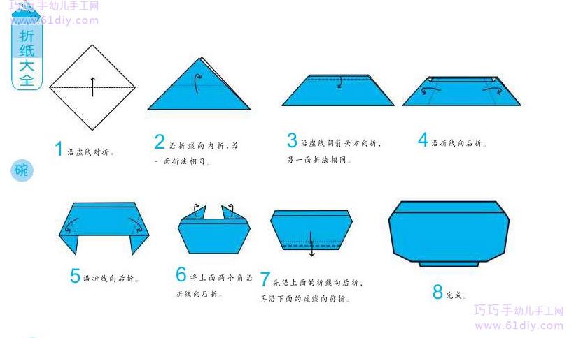 纸碗做手工制作图片