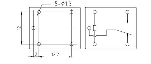 sh一t73继电器接线图