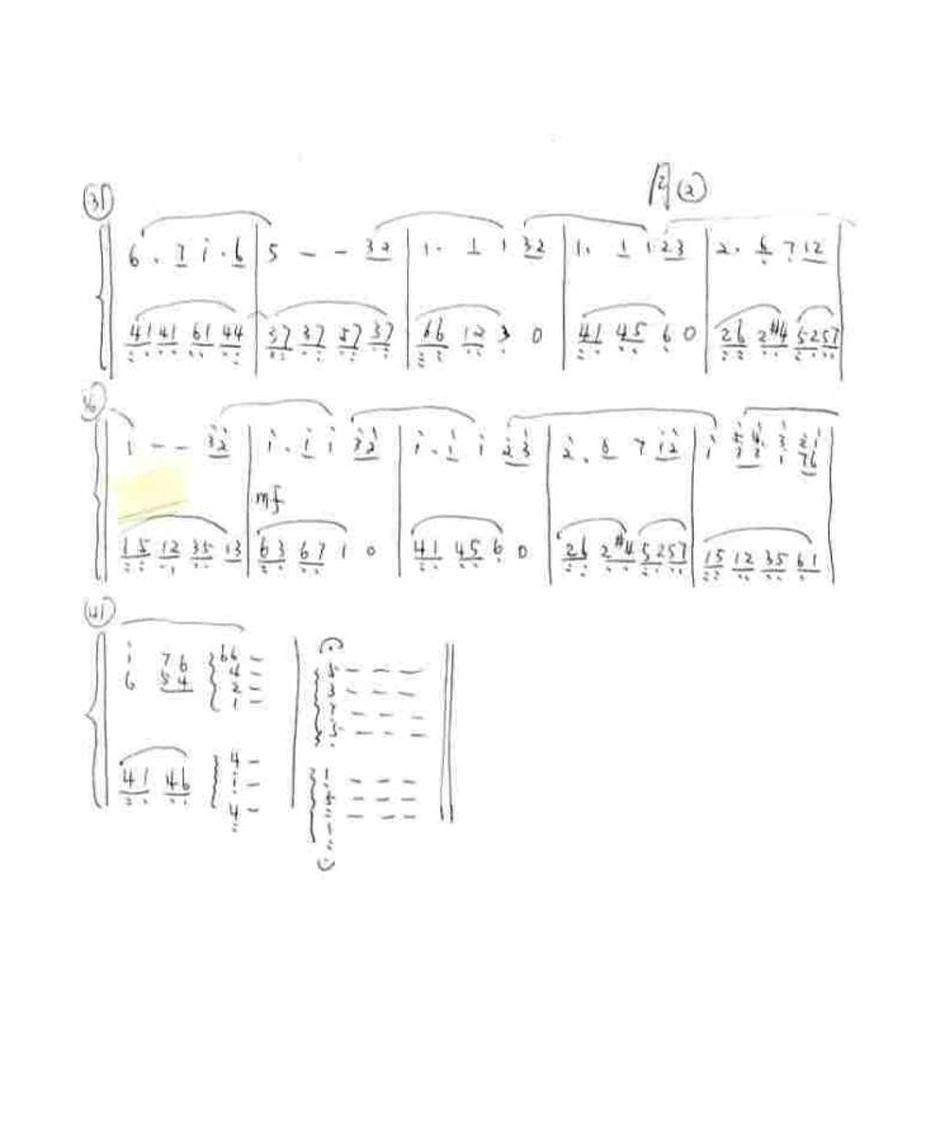 求一份《月亮代表我的心》钢琴左右手简谱
