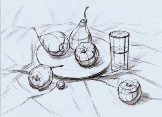 结构素描怎么画,什么是结构素描?