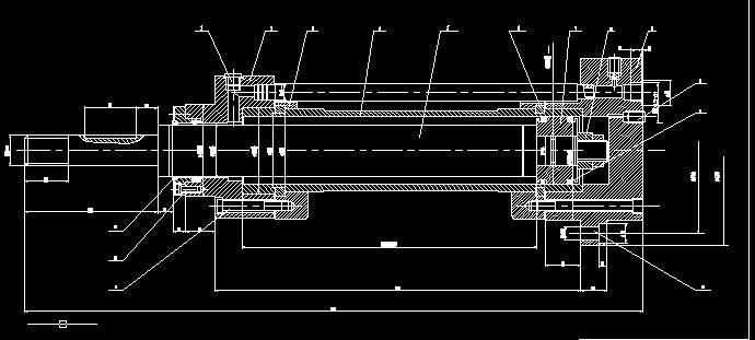 请问这个液压缸缓冲装置是什么装置?谢谢图片