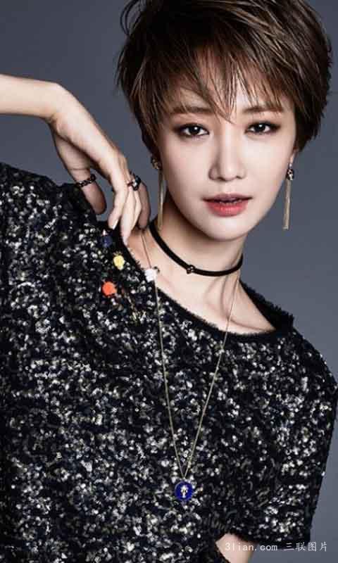 我是圆脸脸小,想剪短发请问适合金泰妍和高俊熙的短发图片