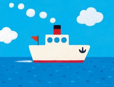 画画简单图片大全小船