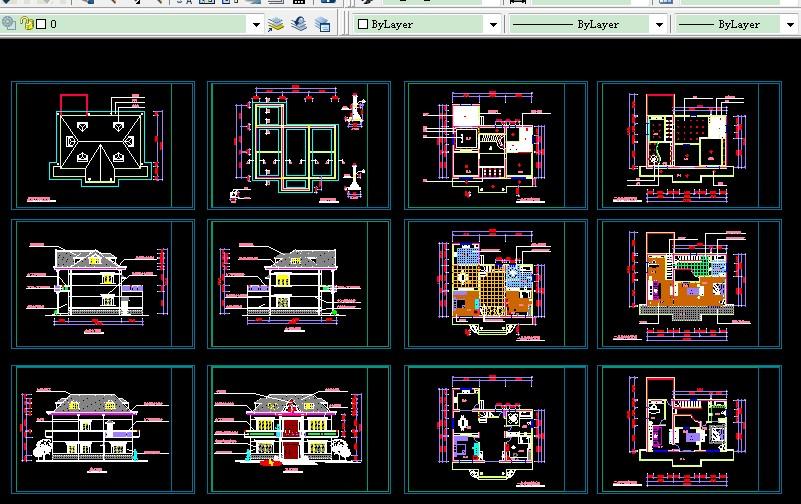 求一张宽10.5米x深12米的房屋设计图,偏东北朝南平面设计图图片