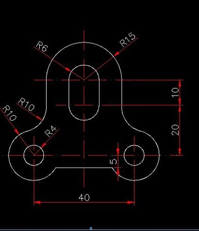 cad住宅和方法合并,连接的圆弧直线罗宾cad图片