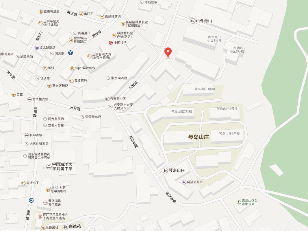 青岛市市北区兴安路11号地图