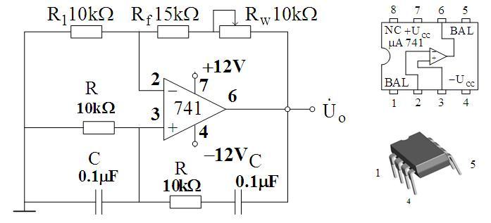 multisim集成运算放大器组成的rc文氏电桥振荡器