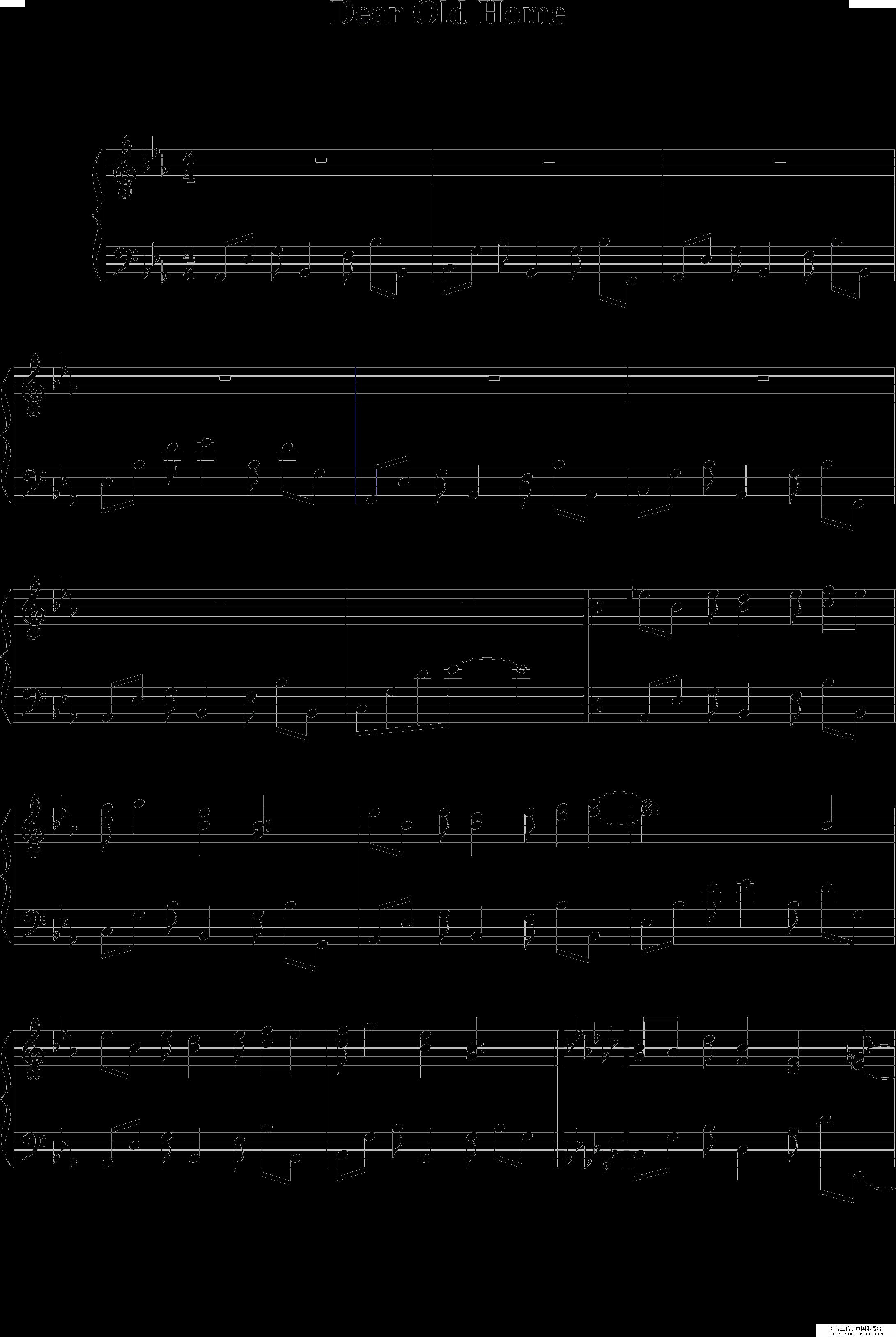 求将这段钢琴谱翻译成简谱