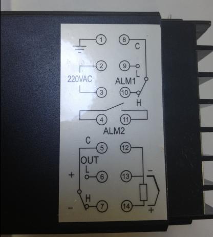 rkc温控器这个这么接线