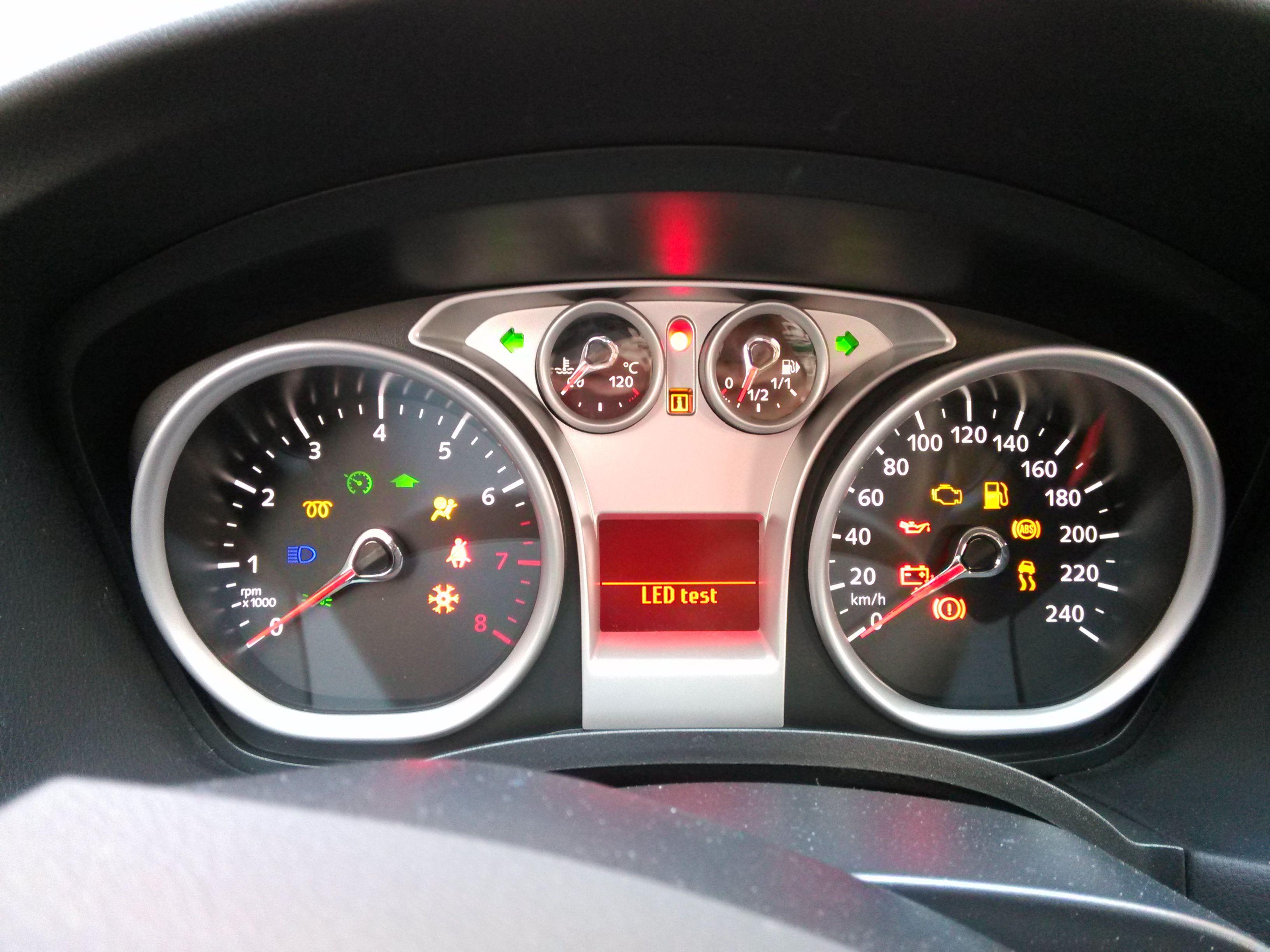 汽车仪表盘指示灯 都什么意思