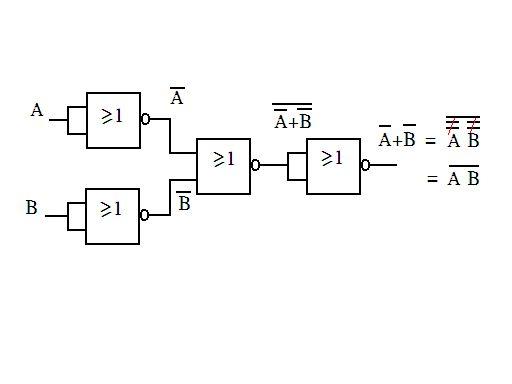 数字逻辑实验 基本逻辑门电路之间的转换 求画电路图