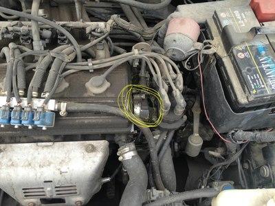 荣威350进气凸轮轴相位传感器在哪荣威i6主驾驶窗失灵图片