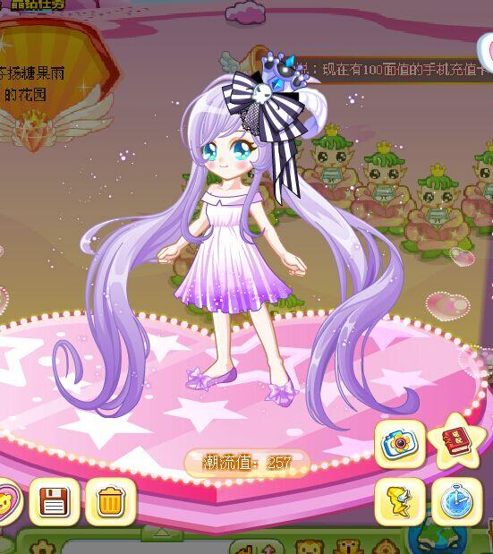 小花仙或奥比岛(魔力变身)的服装搭配