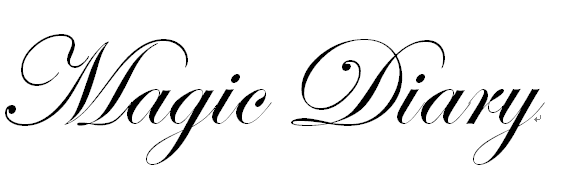 diary的字体手绘