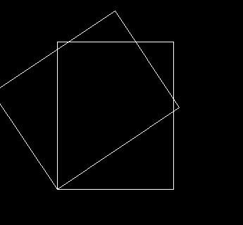 让cad下面的长方形重叠在一起,用旋转命令cadv面的插件景观图片