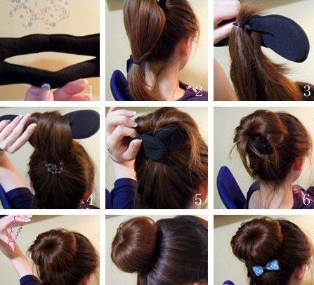 头发的画法步骤图