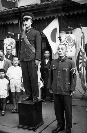 日本鬼子当时真实军服
