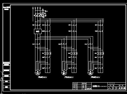变频器到达上限频率输出给工频信号继电器,再给所有工变频继电器互锁