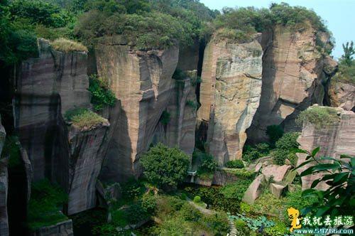 抱犊寨风景区的莲花山的故事