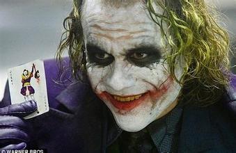 joker  《蝙蝠侠:黑暗骑士》