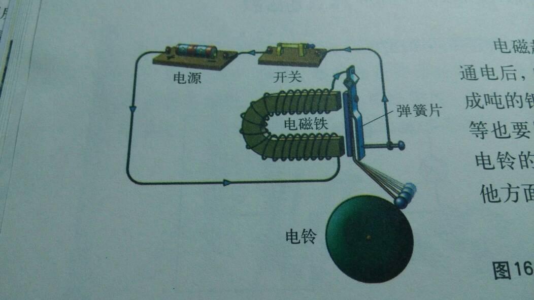3个127v电铃对打接线图