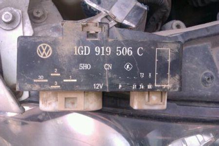 经典宝来换了一个继电器开空调车子在路上老是熄火这跟继电器有关系吗