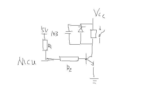 松乐srd-05vdc-sl-c继电器,用单片机如何驱动?