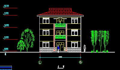 求农村房屋设计平面图,面积是长10宽11,大门开的方向是西南想盖三层